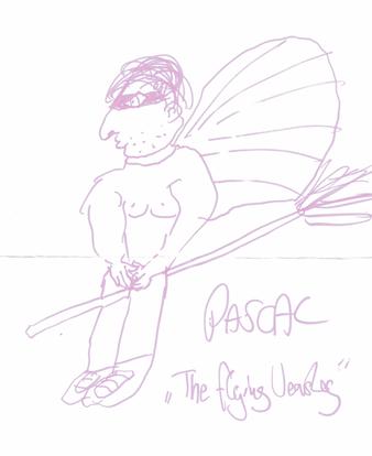 """Pascal """"The Flying Weasley"""" - gezeichnet von Daniel H."""