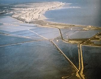 La Ciudad de Santa Pola (Alicante) desde el aire