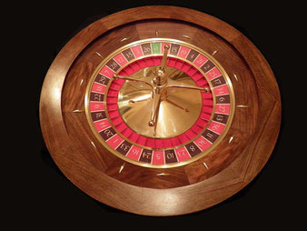 """Roulette casino"" By Oniff (Own work) [CC BY-SA 4.0 (http://creativecommons.org/licenses/by-sa/4.0)], via Wikimedia Commons"