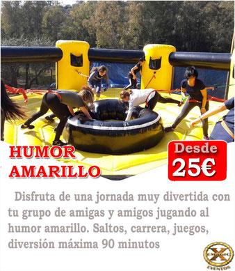 humor amarillo en Cádiz