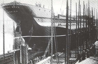 'Whateley Hall' under construction at Sunderland
