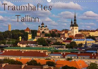 """Titelblatt des Kalenders """"Traumhaftes Tallinn 2015"""" - Mit einem Klick zum Shop"""