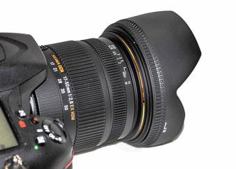 Das NEUE an meiner Nikon D7100 - Sigma 17-50 mm F2,8 EX DC OS HSM