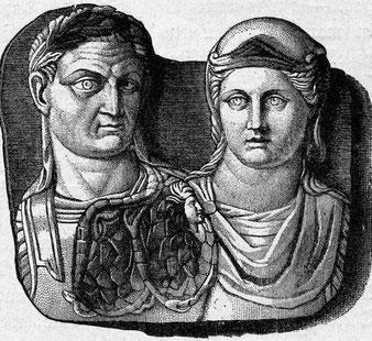 Konstantin, römischer Kaiser von 306-337 n.Chr.