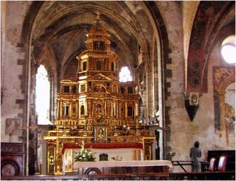 """""""Altar im Dom von Saluzzo"""""""
