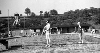 Flehinger Schwimmbad ca. 1938