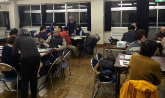 ☆受講者16名にサブは田村 徹さんと佐藤 弥子さんのお二人。大丈夫でした。