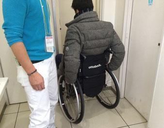 ☆コンビニのトイレの入り口が狭くて車いすでは入れません。