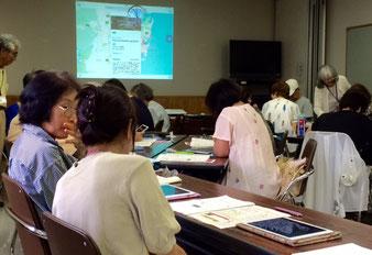 ☆日本地図アプリを楽しんでいただきました。
