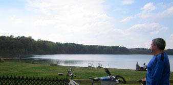 Rad fahren MV Mecklenburg Fahrrad Radeln See