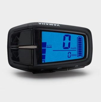 Das Yamaha Display A e-Bike Display ist mit allen Yamaha Antriebssystemen kombinierbar und verfügt über Basisfunktionen