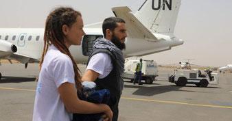 Luca Tacchetto e la sua compagna canadese, Edith Blais, rilasciati in Mali