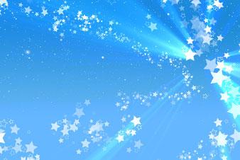 7、青空の星