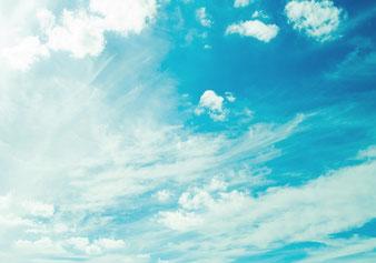 3、大空の雲