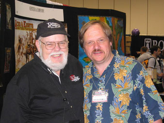(L-R) Dave Arneson and Rob Kuntz.