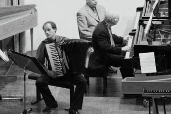 Konzert Schlumberger Leslie Akkordeon Klavier