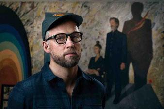 Maler Kasper Eistrup war Mitglied der international erfolgreichen Band Kashmir. Foto: PR/Søren Solkær