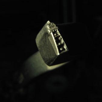 Ring Stempel Leuchturm Falshöft Eheringe Gravur
