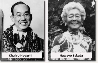 Hawayo Takata, Chujiro Hayashi, historique du Reiki