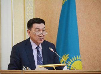 Alik Aidarbayev, Kazakhstan's Minister for Investment and Development  -  courtesy: KZ Gvmt.