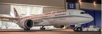 RAM operates Boeing 787s across the North Atlantic  /  company courtesy