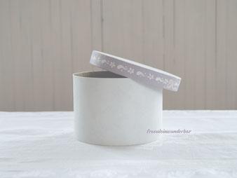 Wunderbar handbemalte und verzierte Pappdosen und Holzkisten vom Fraeulein Pappdosen und