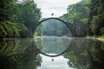Die Rakotzbrücke fotografiert von Jacob Riglin©