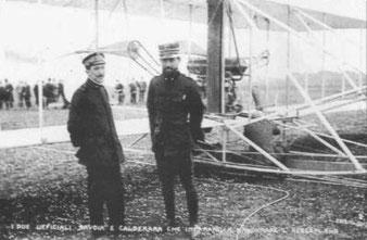 Mario Calderara e Umberto Savoja.