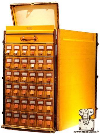 Malle a chaussure pour 36 paires. Louis Vuitton