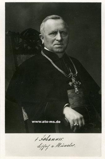 Bischof Johannes Poggenburg