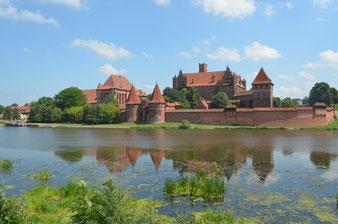 Die Marienburg, Stammburg des Deutschen Ordens