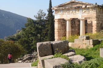 Delphi, Schatzhaus der Athener