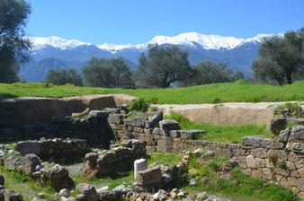 Sparta, Reste der Agorá (zentraler Versammlungsplatz)