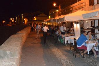 Alghero, Hafenpromenade