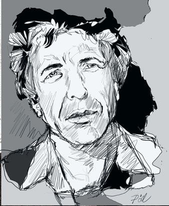 Leonard Cohen von Peter Pöllmann