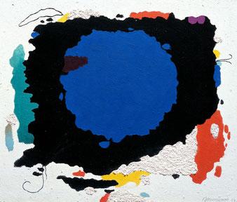 Willi Baumeister, Mo mit Kreis, 1954  VG Bild-Kunst, Bonn 2016