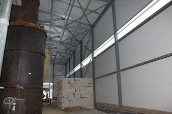 Изготовление и строительство ангара