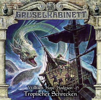 CD-Cover Gruselkabinett Folge 154 - Tropischer Schrecken