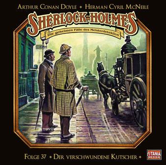 CD-Cover Sherlock Holmes Der verschwundene Kutscher