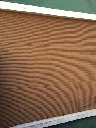 外壁塗装・内部塗装にオススメです。おしゃれ模様付き塗装。ブラウンカラー