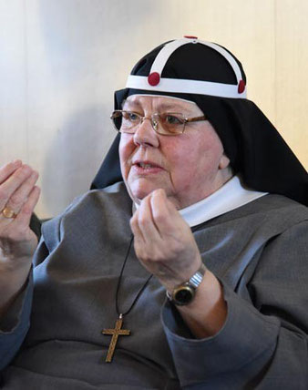 Mutter em. Karin leitete 26 Jahre lang das Kloster in Vadstena.