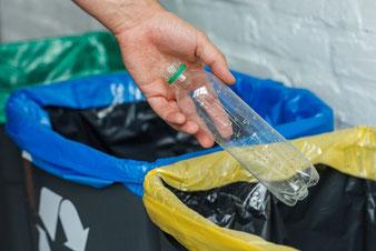 ゴミをまとめる リサイクル 汚部屋