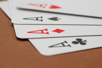 Spielkarten, Karte, Ass, Asse, Kreuz, Treff, Karo, Pik, Herz