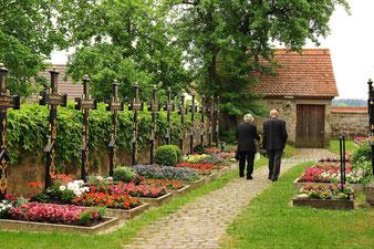 Friedhof Segringen Ostseite