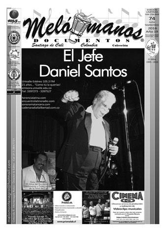 Melómanos Documentos No. 74 - Centenario de Daniel Santos.