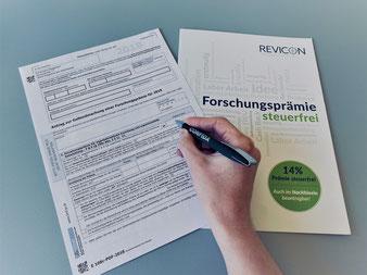 REVICON - Ihr Forschungsprämien-Experte