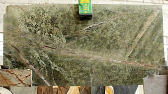 Fan Green, grüner Marmor