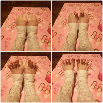 足の冷え改善 外反母趾 むくみ 足指じゃんけん フィットネス整骨院vivace 豊田市接骨院