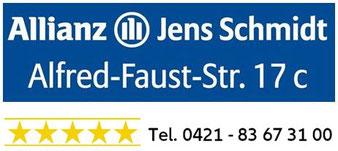 Allianz Jens Schmidt Bremen - Tel. 0421-83673100
