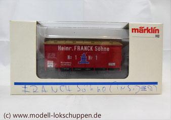 "46969 Märklin Insider Jahreswagen 1996 Klappdeckelwagen ""Heinr. FRANCK Söhne"""